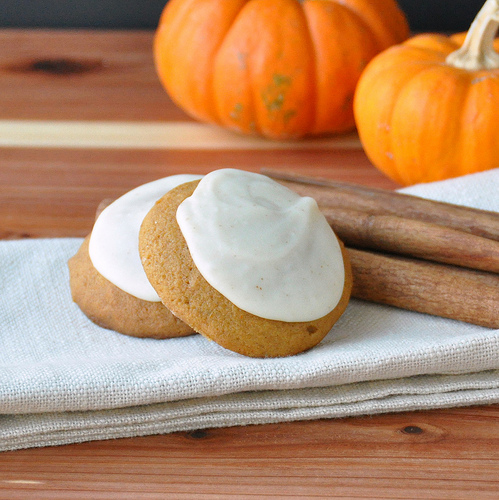 Pumpkin Spiced Cookies with Browned Butter Frosting – The ...