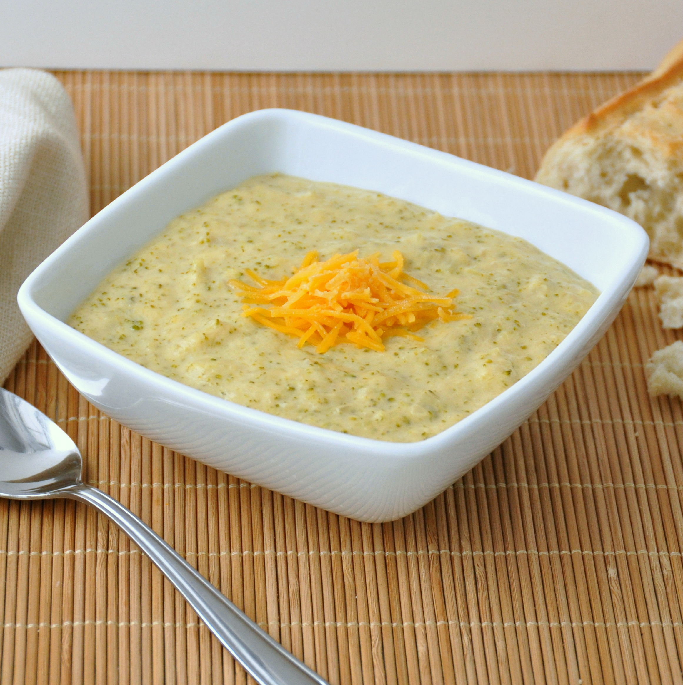 Broccoli And Cheddar Soup Recipe — Dishmaps