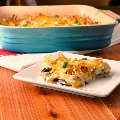 Tortilla Chip Casserole – The Way to His Heart