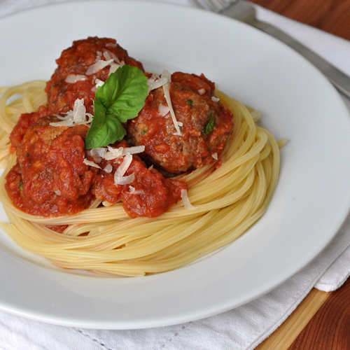 Weeknight Meatballs – The Way to His Heart