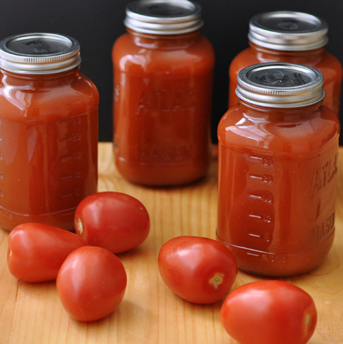 Freezing Tomatoes & Canning Sauce – The Way to His Heart