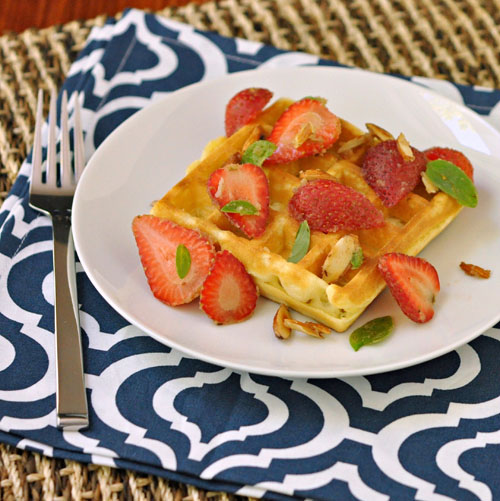 Strawberry & Browned Butter Waffle – The Way to His Heart