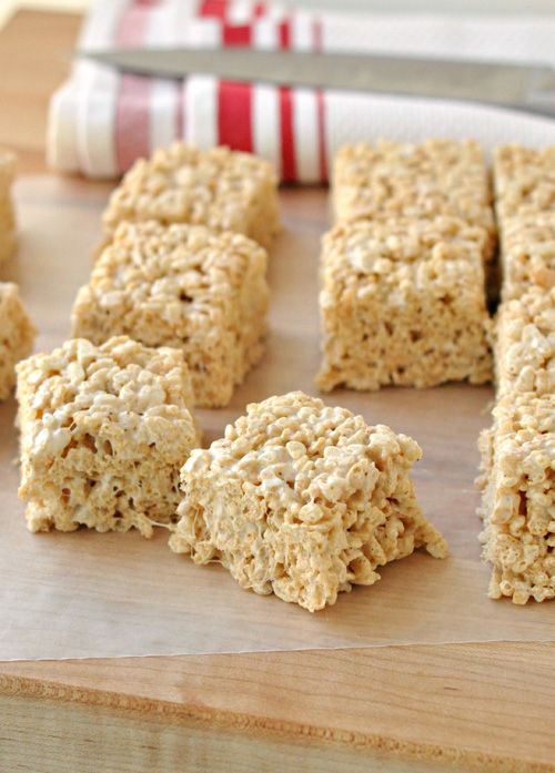 Salted Brown Butter Rice Krispie Treats – The Way to His Heart