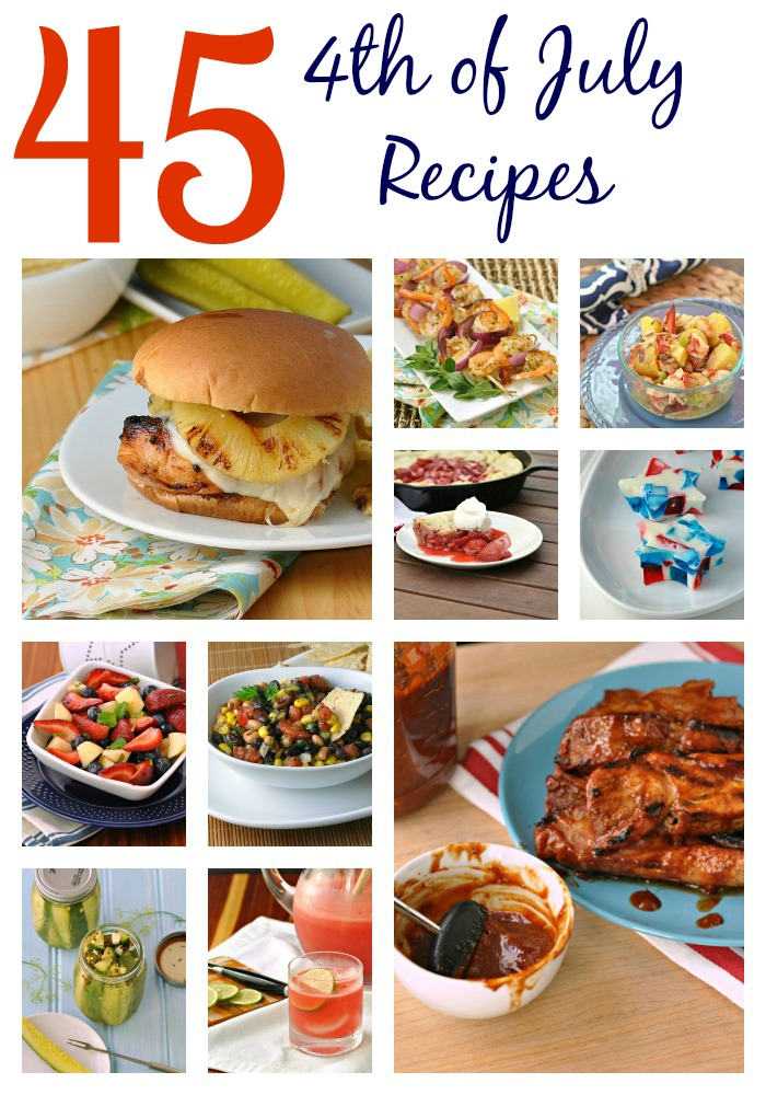 4th of July Recipe Roundup ~ The Way to His Heart