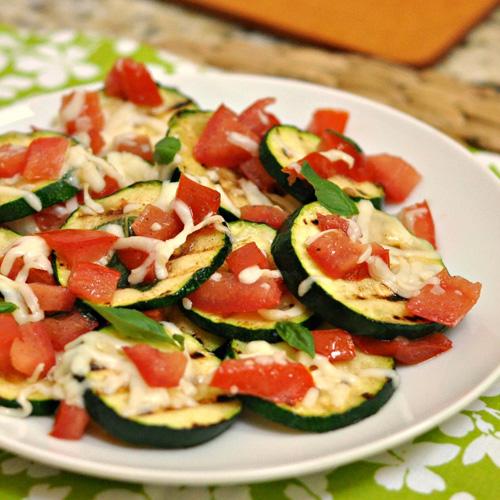Caprese Zucchini