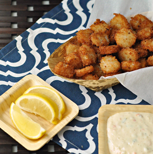 Scallop Chips & Restaurantware