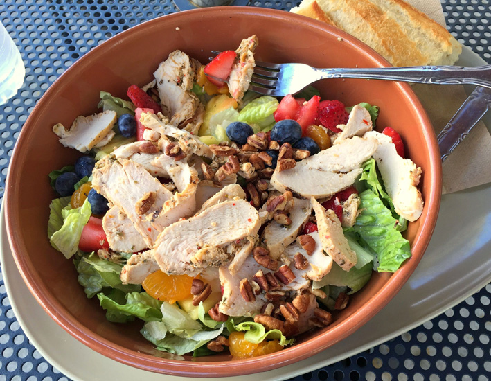 Strawberry Poppyseed & Chicken Salad #PaneraGoodness ~ The Way to His Heart
