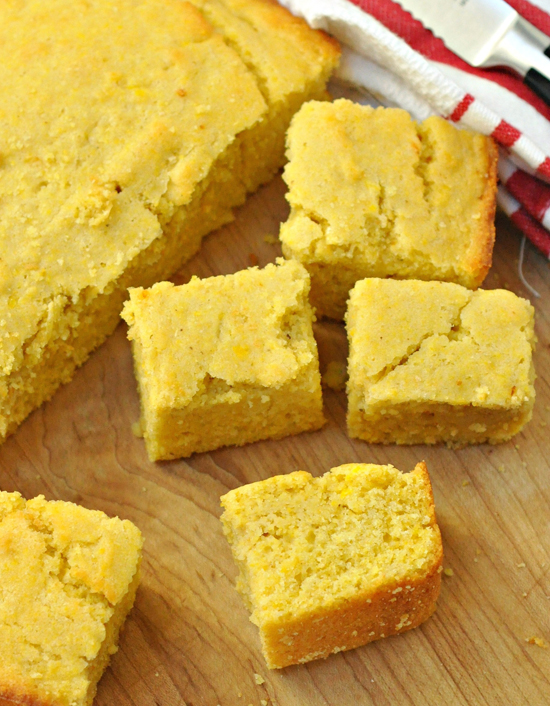 Cornbread ~ The Way to His Heart ~ A perfect all purpose Corn Bread recipe that is great to have in your recipe arsenal.