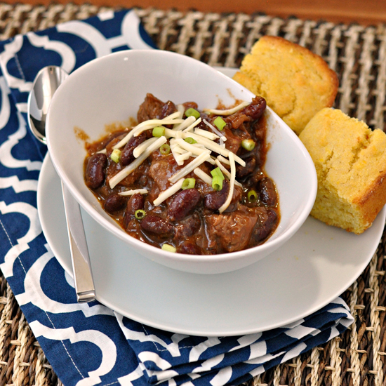 Texas Chili ~ The Way to His Heart ~ Slow Cooker