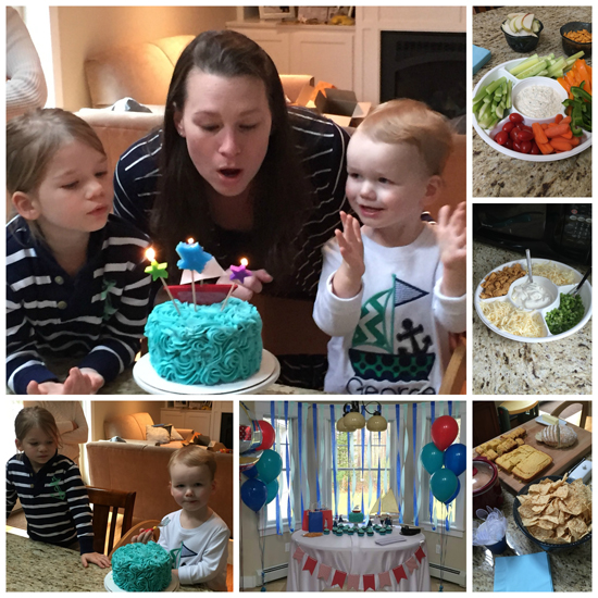 George Turns Two! A Boat Party ~ The Way to His Heart ~ #birthday #boats #partyfood #kidsparties