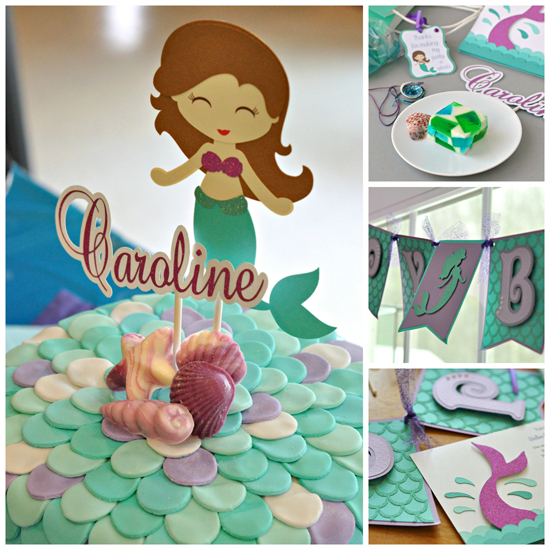 A Mermaid Party ~ Caroline's 6th Birthday ~ The Way to His Heart #kidsparties #rachaelscraftshack