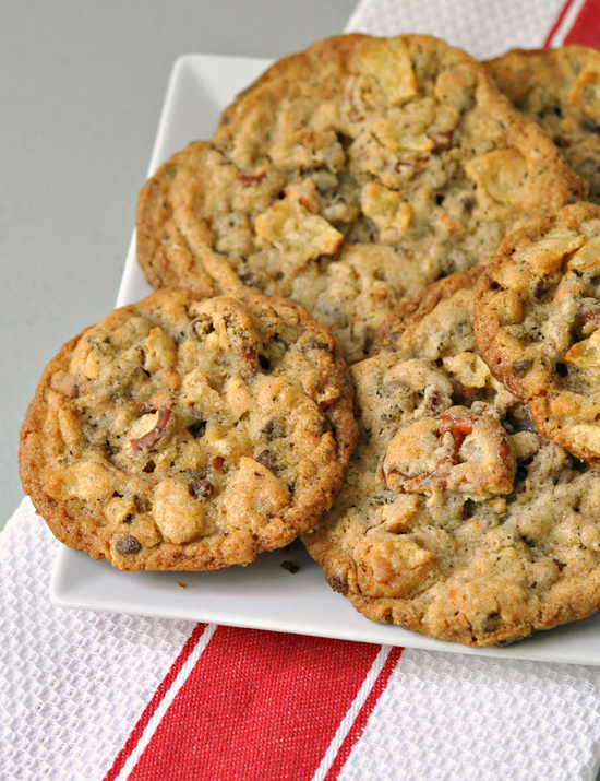 Compost Cookies ~ From the very best, Momofuku Milk Bar, these amazing cookies are chewy, crunchy, sweet and salty with so much flavor ~ The Way to His Heart